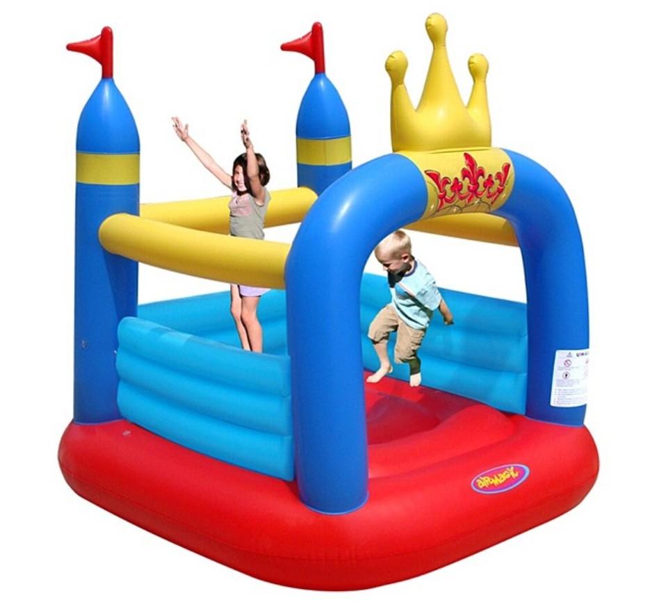 Надувной батут Замок батут детский надувной jumpo волшебный замок 225x220x215 см