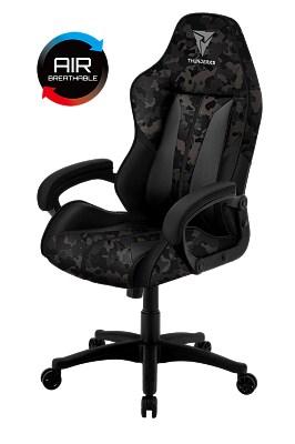 Геймерское кресло ThunderX3 BC1 Camo Металл Черный Черный