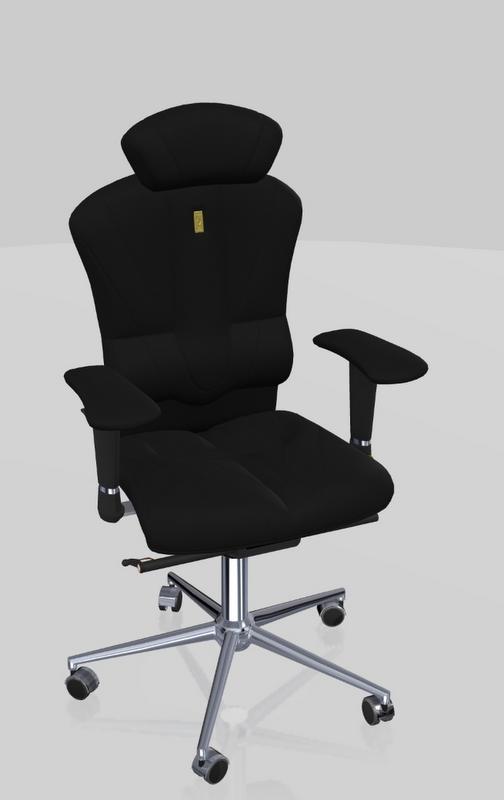 цена на Офисное кресло Kulik System Victory Металл Черный Серебро