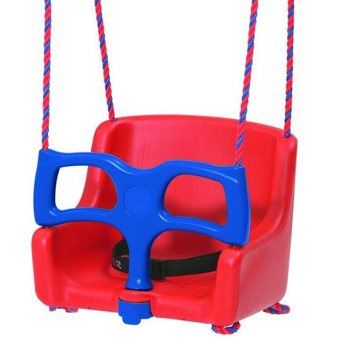 Сиденье с ограничителем для маленьких детей navy round neck sweatshirt with pom pom details