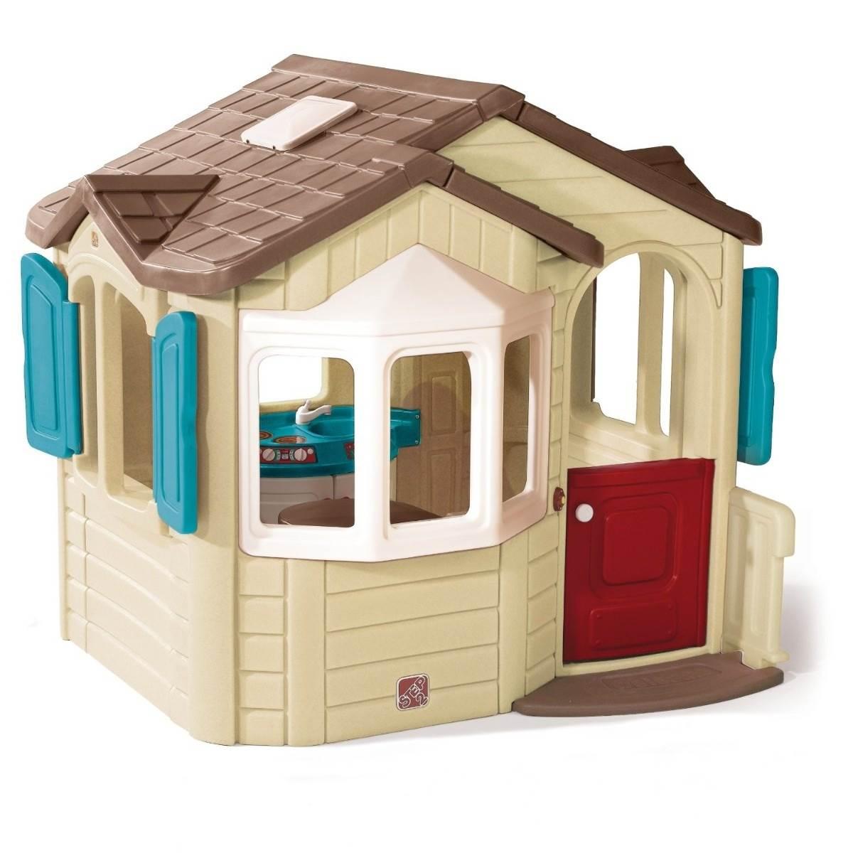 Step 2 Игровой домик Мой Дом светодиодный беспроводной перезвон дверной звонок дверной звонок