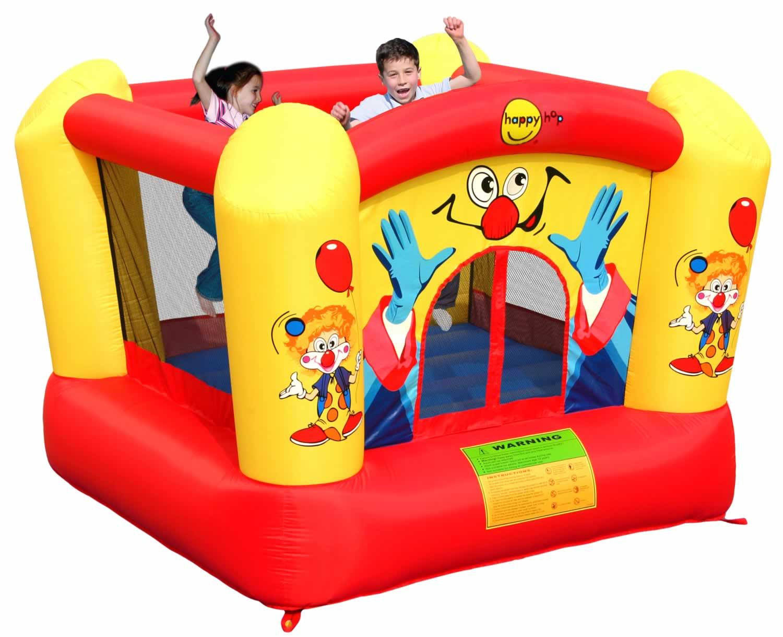 Happy Hop Детский надувной Батут Веселый Клоун HAPPY HOP 9320