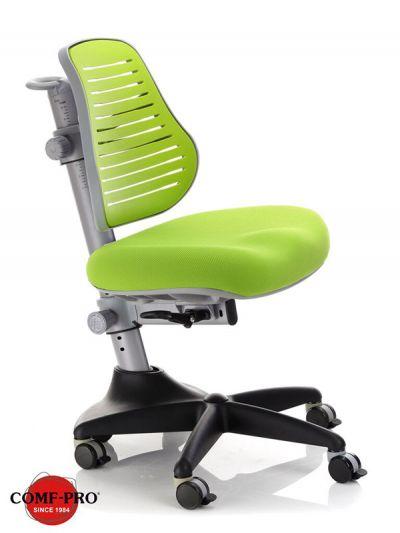 Комплект ДЭМИ Парта СУТ-15-04 120х55 см с задней приставкой с креслом Conan и прозрачной накладкой на парту 65х45