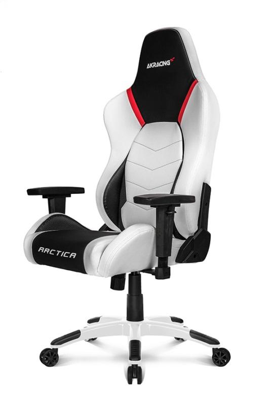 Геймерское кресло AKRacing ARCTICA Металл Белый Черный