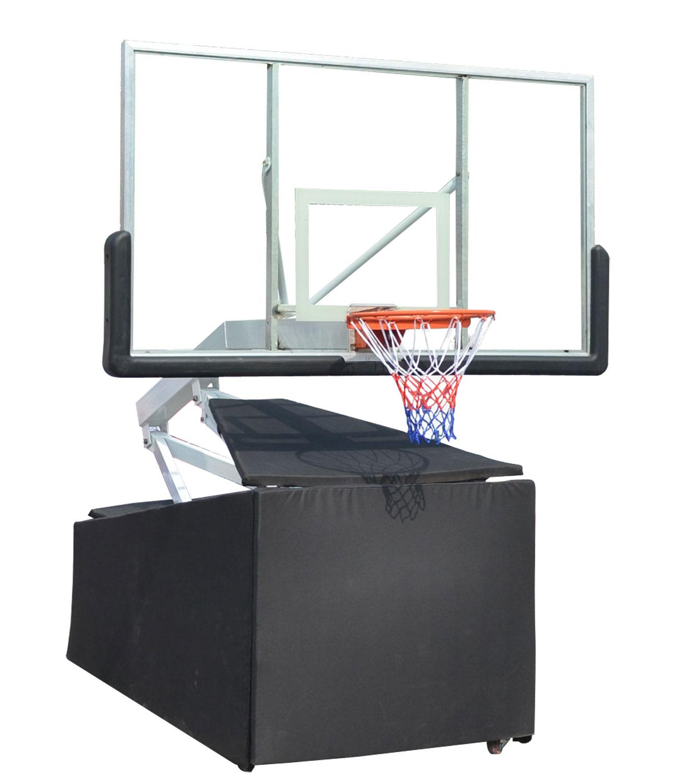 Мобильная баскетбольная стойка клубного уровня STAND72G украшение щита