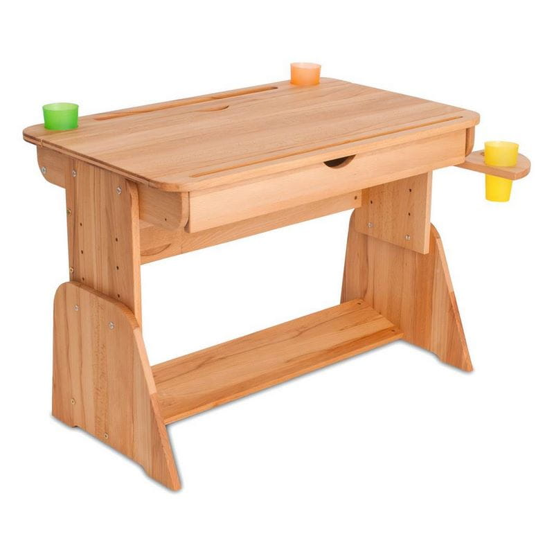 Парта Абсолют-мебель Парта для дома Школярик С-470-1 с мольбертом и выдвижным ящиком 70 см парта для дома школярик с пеналом с470 70см