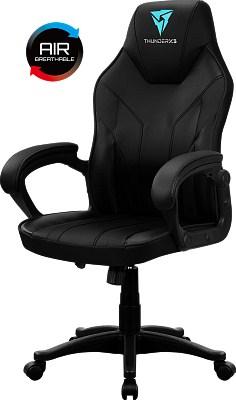 Геймерское кресло ThunderX3 EC1 Металл Черный Черный