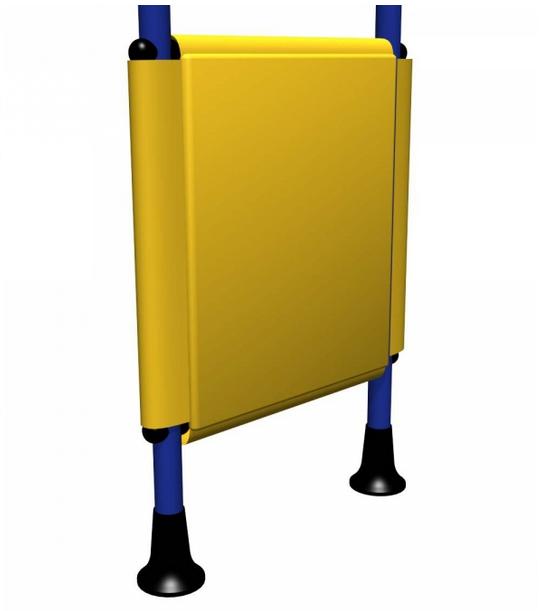 Мягкая накладка для ДСК 49 см накладка на ступени крестики 75х25см