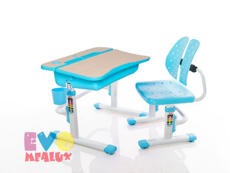Парта Mealux Комплект парта и стульчик EVO-03 кресло гелиокс коленный стул орто с газ лифтом