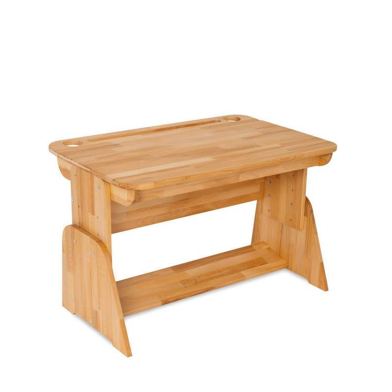 Домашняя парта Абсолют-мебель Школярик С490 с мольбертом 90см Массив дерева Бук массив