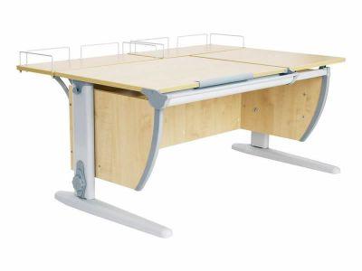 Комплект ДЭМИ Парта СУТ-17-01 120х80 см с креслом Nobel и прозрачной накладкой на парту 65х45