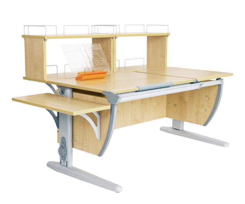 Парта Дэми Парта (Деми) СУТ 17-02Д2 (парта 120 см+две задние двухъярусные приставки+боковая приставка)