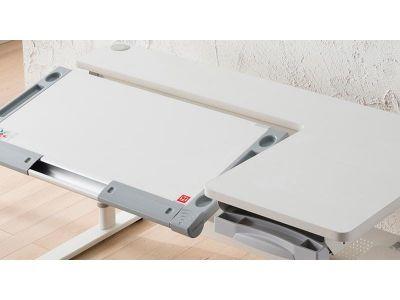 Комплект Comf-pro Парта M9 с компьютерным стулом Conan и прозрачной накладкой на парту 65х45