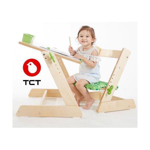 Парта TCT Nanotec Комплект из дерева для дошкольника Q-momo