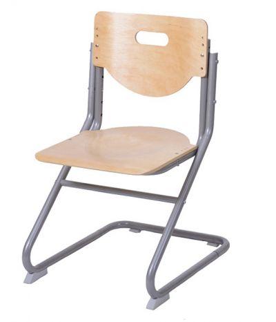 Комплект Астек Парта КОЛИБРИ с фронтальной приставкой со стулом SK-2 и прозрачной накладкой на парту 65х45