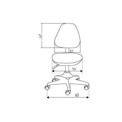 Комплект Comf-pro Стол Harvard без ящика с креслом Match Chair (Матч) и прозрачной накладкой на парту 65х45