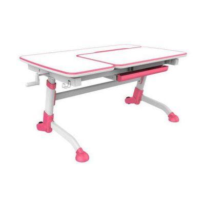 Комплект FunDesk Парта-трансформер Amare с креслом Primavera I и прозрачной накладкой на парту 65х45
