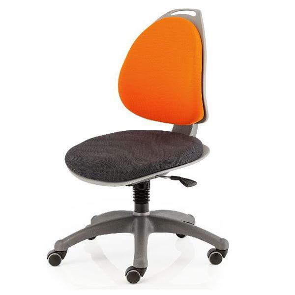 Компьютерное кресло для школьника Berry Оранжевый Серебро