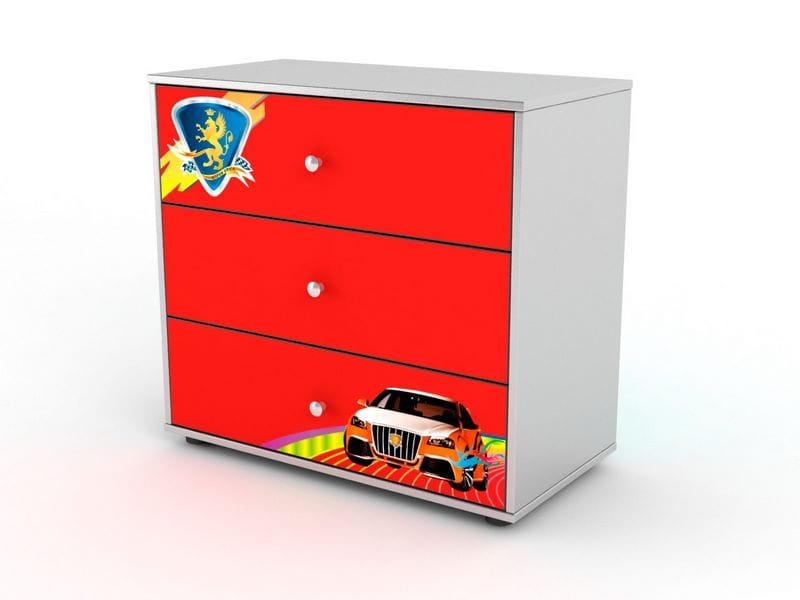 цены Стеллаж Grifon Style Комод R800 на 3 ящика