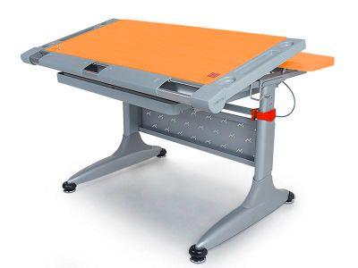 """Комплект Comf-pro Стол ТОКИО-2 (с ящиком) с креслом """"Oxford"""" (Оксфорд) C3 и прозрачной накладкой на парту 65х45"""
