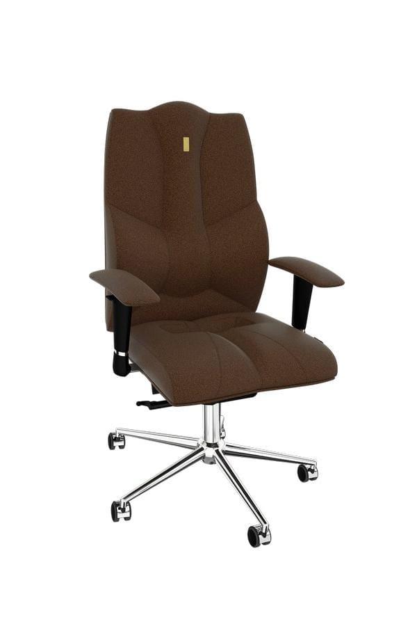 Офисное кресло Kulik System Business Металл Шоколад Серебро тумба для документов kulik system aura 3002 шоколад