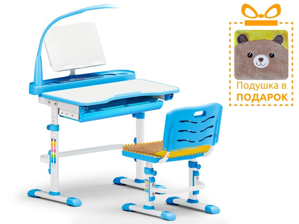Комплект парта и стульчик Mealux EVO-18 (с лампой)