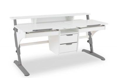 Растущий стол Pondi Эргономик МДФ для двоих детей