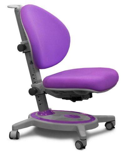 Комплект ДЭМИ Парта СУТ-15-04 120х55 см с задней приставкой с креслом Stanford и прозрачной накладкой на парту 65х45