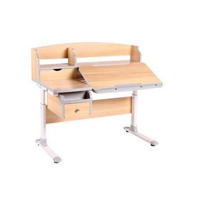 Комплект FunDesk Парта-трансформер Sognare с креслом SST9 и прозрачной накладкой на парту 65х45