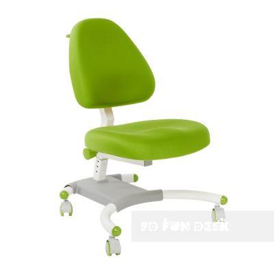 Комплект FunDesk Парта-трансформер Trovare с креслом Ottimo и прозрачной накладкой на парту 65х45