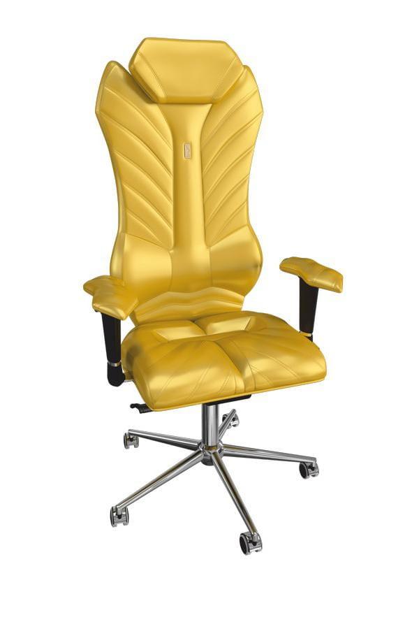 Кресло Kulik System Офисное кресло Kulik Monarch (натуральная кожа, инд. прошивка Aristo, 3D подголовник)