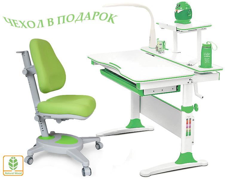 Комплект Mealux EVO-30 (парта Evo-Diego с лампой + кресло Y-110)(дерево)