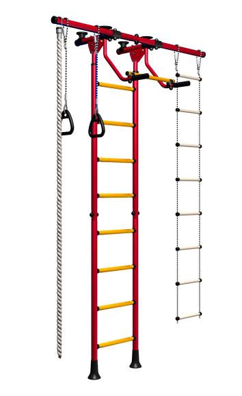 Шведские стенки из металла Карусель ДСКМ-2-8.06.Г5.410.01-12 Металл Красный цена