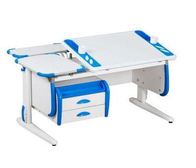Комплект ДЭМИ Парта Techno СУТ 31-04 с креслом Duo Kid mini и прозрачной накладкой на парту 65х45