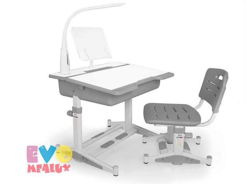 Комплект парта и стульчик Mealux EVO-02 New