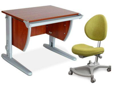 Комплект ДЭМИ Парта СУТ-13 60х50 см с креслом Neapol и прозрачной накладкой на парту 65х45