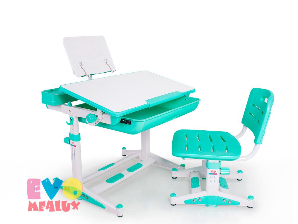 Комплект парта и стульчик Mealux EVO-04 New