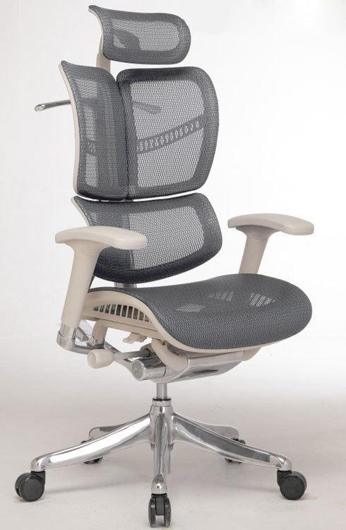 Офисное кресло Expert Fly с выдвигаемой подножкой Металл Черный Черный