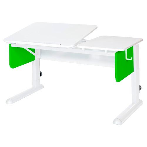 Домашняя парта Астек Tvin-2 ЛДСП Белый Зеленый