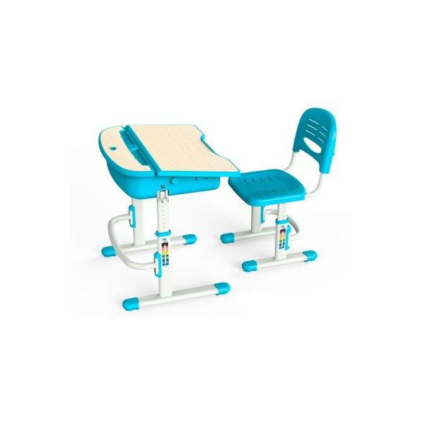 Комплект парта и стульчик Mealux EVO-02 с лампой