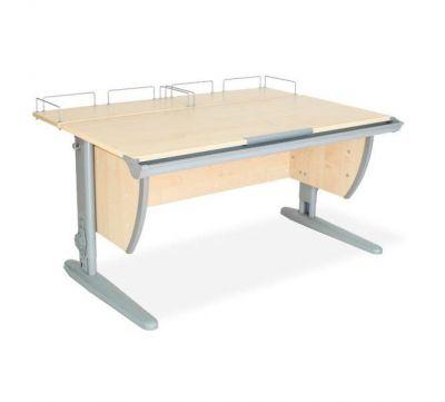 Комплект ДЭМИ Парта СУТ-15-01 120х55 см с креслом Duo Kid mini и прозрачной накладкой на парту 65х45