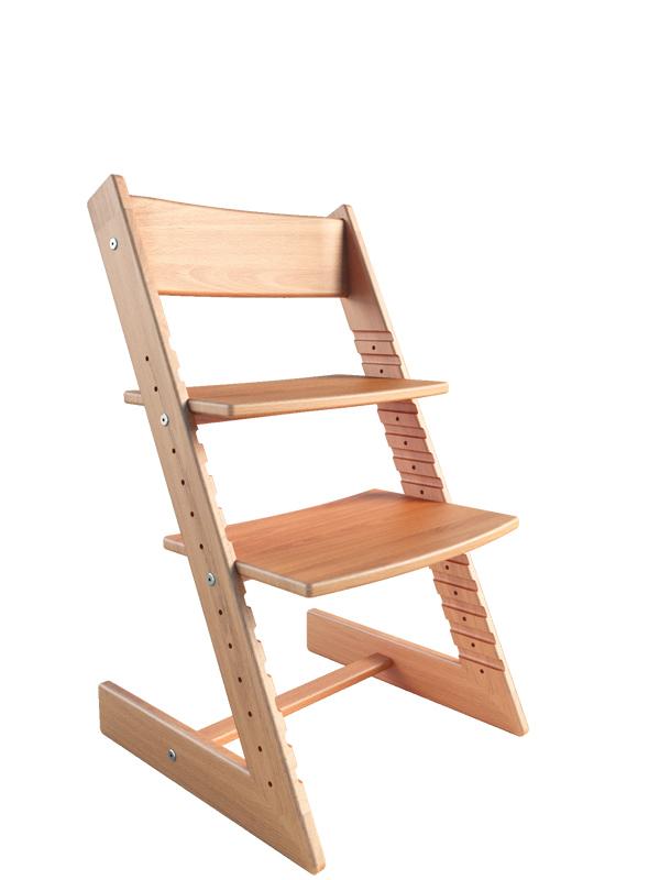 Фото - Детские стулья для письменного стола Конек Горбунек Детский растущий стул из бука Конёк Горбунёк Массив бука Светлый бук детский растущий стул из бука конёк горбунёк