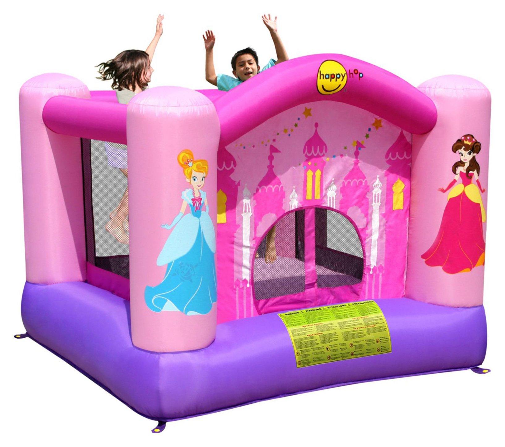 Надувной батут Веселая Принцесса 9001Р надувной батут вокруг света 9070n happy hop
