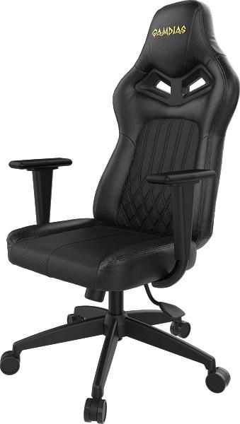 Геймерское кресло Gamdias HERCULES E3 Металл Черный Черный геймерское кресло gamdias hercules e2 металл черный черный