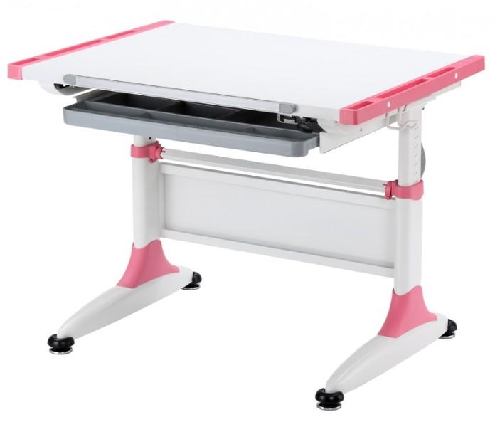 Домашняя парта KidsMaster K1 DURER Desk МДФ Белый Розовый