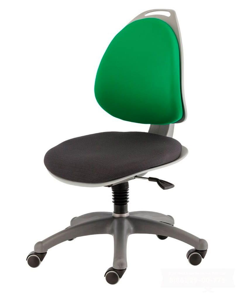 Компьютерное кресло для школьника Berry Зелено/черный Серебро