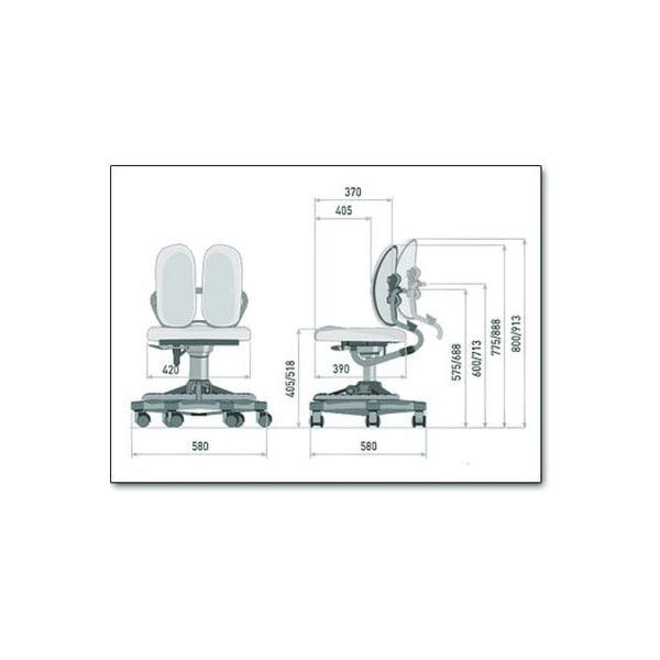 Кресло Duorest KIDS DR - 218A(L)
