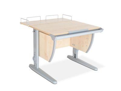 Комплект ДЭМИ Парта СУТ-14-01 75х55 см с задней приставкой с креслом Match Chair и прозрачной накладкой на парту 65х45