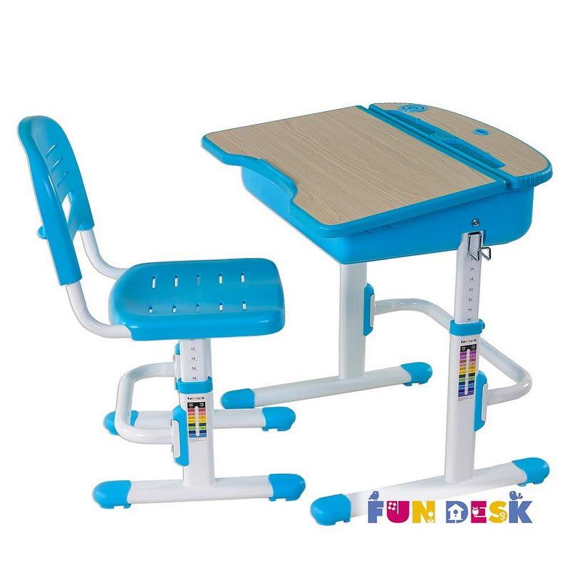 Парта FunDesk Комплект парта для дошкольника и стул Capri