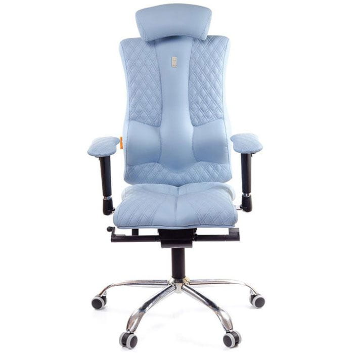 Кресло Kulik System Офисное кресло Kulik Elegance (материал Азур,3D подголовник)